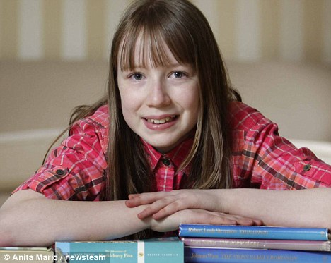 相关视频:英国两岁女孩智商达156