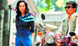 刚刚热播的《幸福来敲门》中孙淳饰演宋宇生,与蒋雯丽演对手戏。