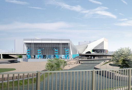 奥林匹克公园水球馆
