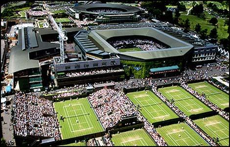 温布尔登网球场