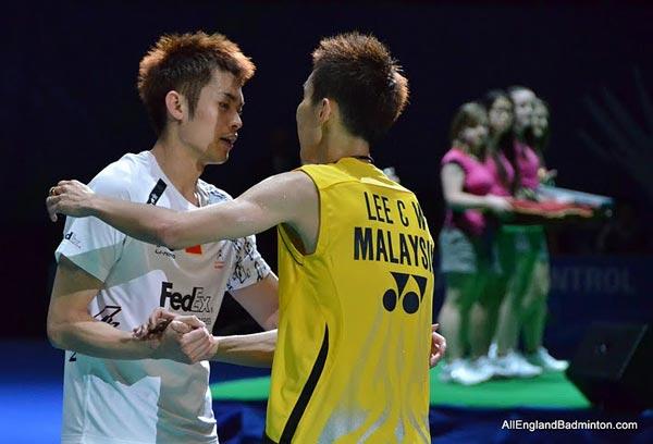 我们更羡慕林丹和李宗伟这样惺惺相惜的对手!