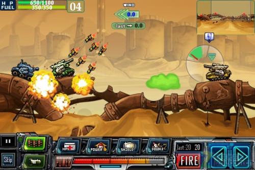 App今日免费-疯狂坦克复刻版tank warz推荐