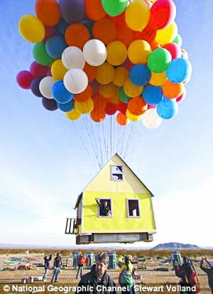 热气球小报手绘