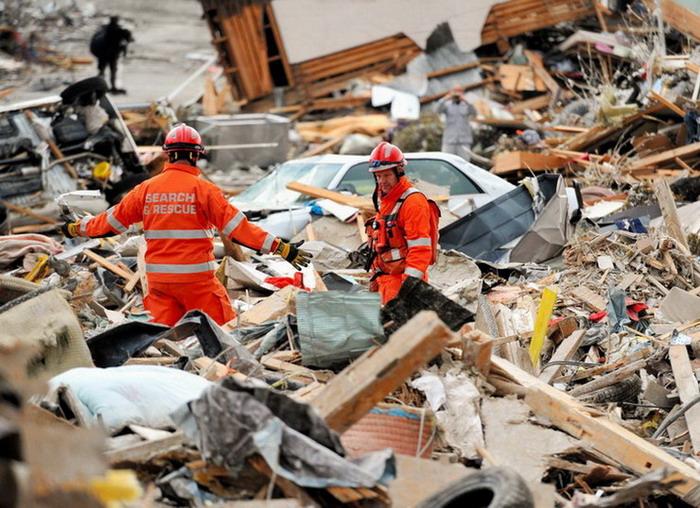 高清:日本大地震现场(组图)