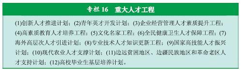 图表:专栏16  重大人才工程 新华社发