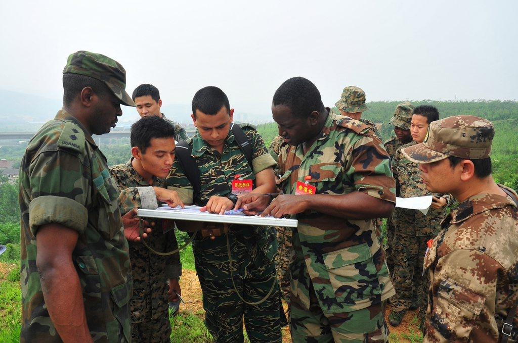 2009年,南京陆军指挥学院国际军事教育交流中心组织