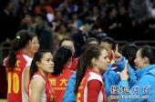 图文:[女排]恒大3-1上海 我们第一