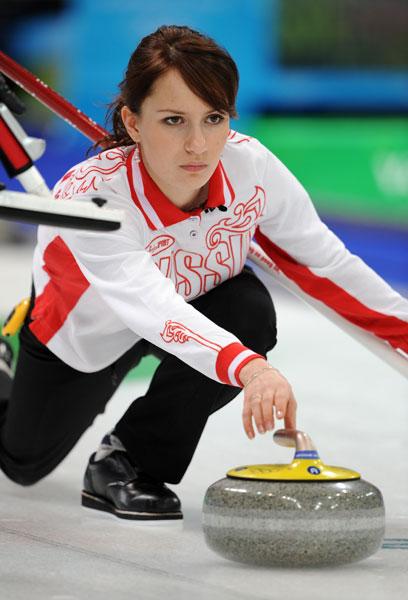 图文:俄罗斯冰壶校服队三垒女生西多洛娃街拍美女女子图片