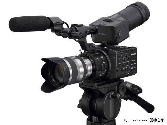索尼E卡口专业摄像强机NEX-FS100发布
