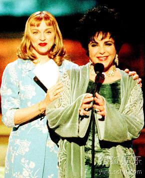 麦当娜与泰勒曾一同出席颁奖礼