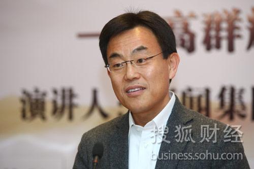 (新闻集团全球副总裁高群耀先生 摄影:搜狐唐怡民)