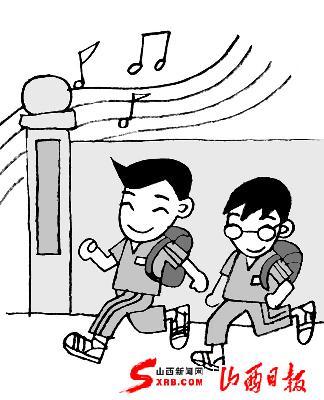 据介绍,该校上课下课铃声大都选用理查德·克莱德曼的钢琴曲,上课