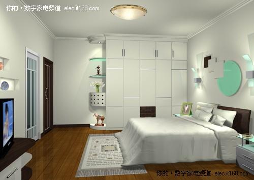 清新淡雅风格 60款精美卧室装修效果图
