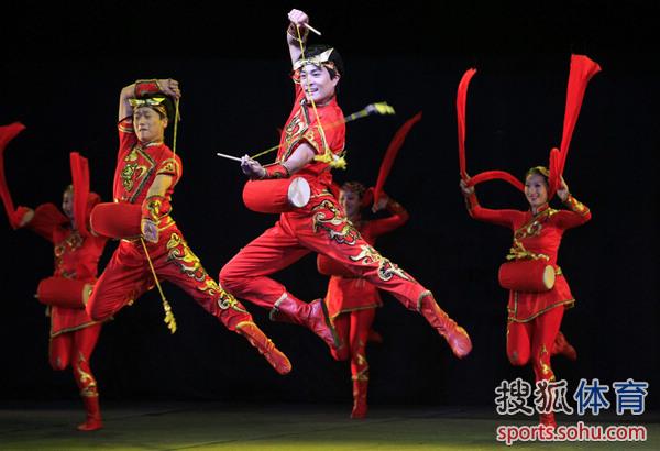 现场中国文艺表演