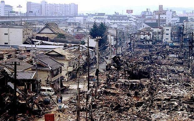 日本阪神大地震,1995年