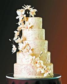 """传为凯特喜爱的""""花草""""装饰蛋糕"""