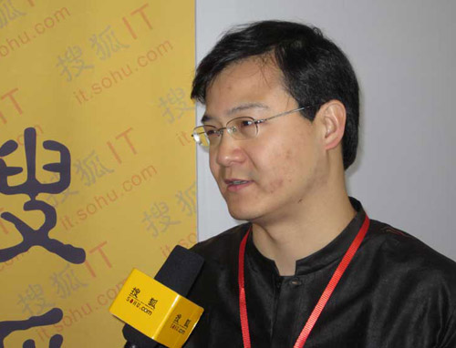天下互联董事长兼CEO张向宁接受搜狐IT专访