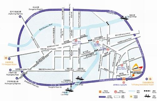 上海新国际博览中心交通指南