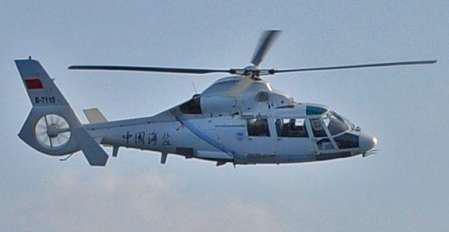 """外交部回应中方直升机在东海监视日驱逐舰""""趁火打劫说""""(图)"""