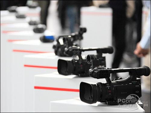 2011佳能DV新品发布会现场真机外观实拍
