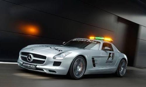"""新一代""""鸥翼""""跑车SLS AMG重返墨西哥的泛美拉力赛赛道"""