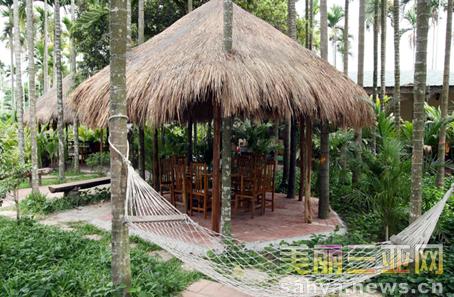 三亚槟榔村:乡村旅游好去处/组图