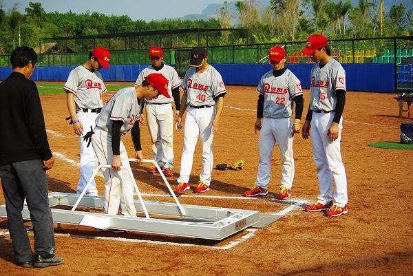 """v体育体育动态新城体育搜狐垒球讯""""楠景垒球杯""""2011年中国中国棒球队排名图片"""