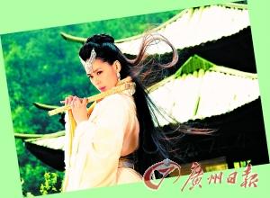 阿娇在《灵珠》中仙乐的造型