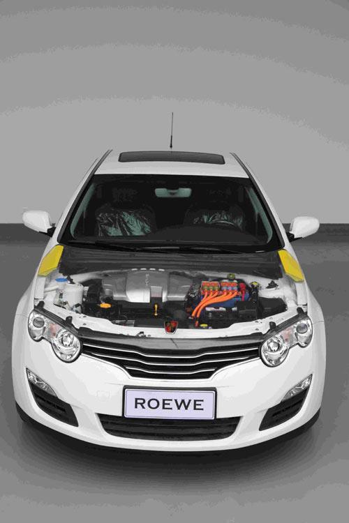 荣威550插电式混合动力轿车 -上汽自主新能源车将亮相车展 插电混合高清图片