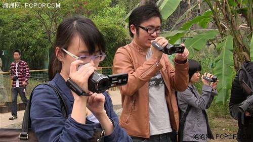 爱-高画质 佳能HFM41广州动物园体验