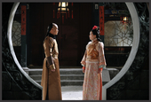 图文:若曦梦见与八阿哥在紫禁城相会