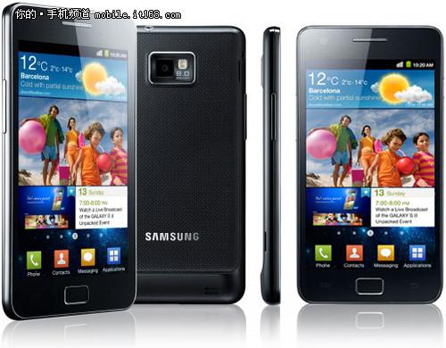 三星Galaxy S2跑分图曝光 超HTC双核2倍