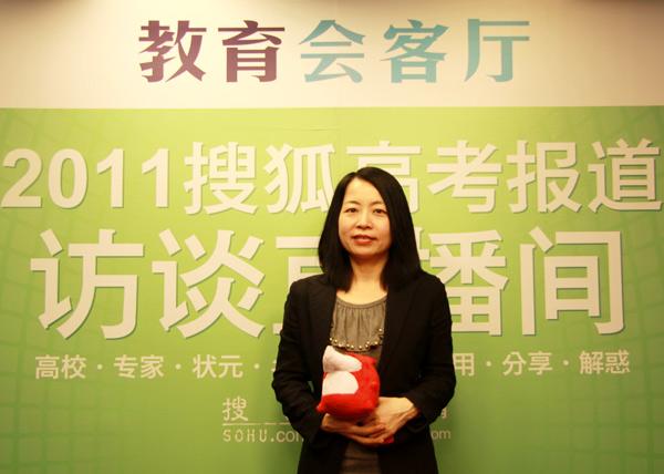 香港城市大学内地及对外事务处主任卓燕。
