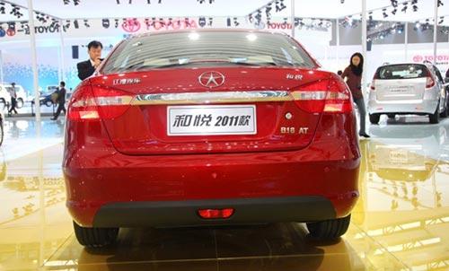 和悦1.8AT有望上海车展上市
