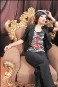 图文:天津女排精美写真 李珊妖冶