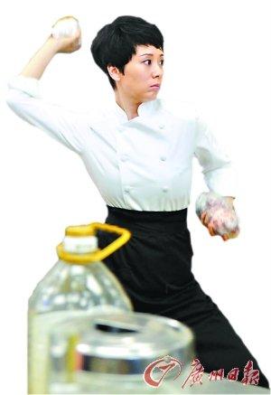 由南方电视台等出品的24集电视剧《后厨》在广州开机,该剧由海清,小