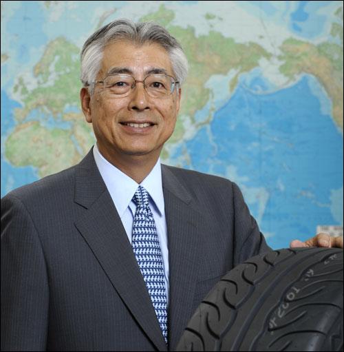 横滨橡胶(中国)有限公司董事长辛岛纪男先生