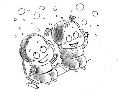 动漫 简笔画 卡通 漫画 手绘 头像 线稿 400_316