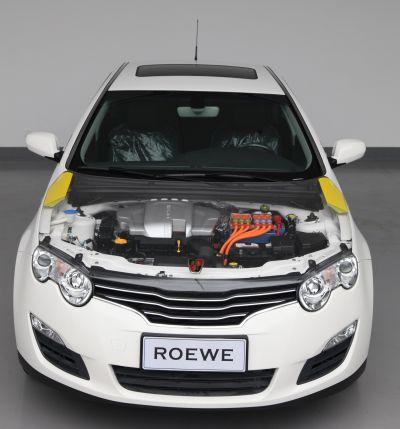 荣威550插电式混合动力轿车-上汽整体亮相上海车展 展示自主创新最新高清图片
