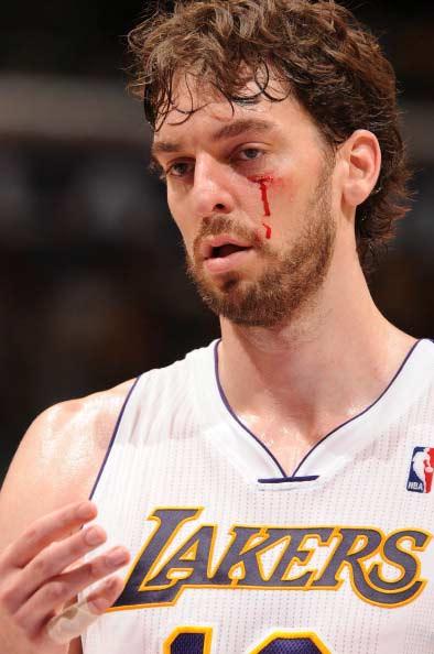 组图:[NBA]黄蜂109-100湖人 加索尔喋血