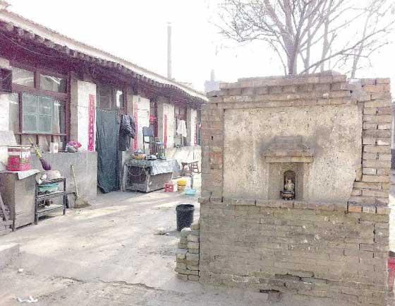 交城县天宁镇永宁南街46号院,华国锋就是在这里出生诂文/片 鲁超国(微博)