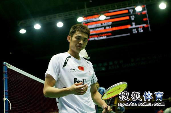 图文:亚锦赛首日林丹横扫对手 整理羽球