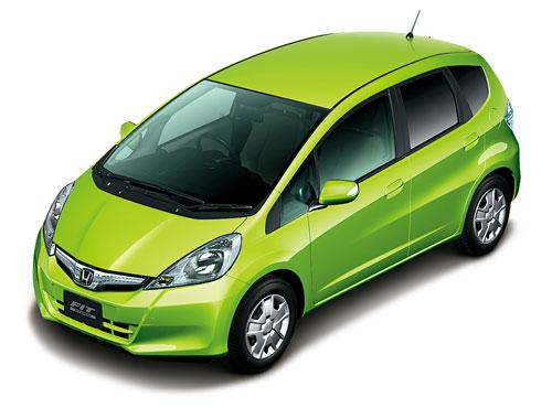 搭载Honda先进混合动力技术的FIT Hybrid