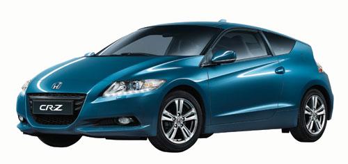 搭载Honda先进混合动力技术的CR-Z