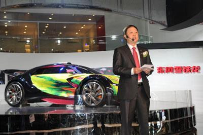 神龙汽车有限公司商务副总经理兼东风雪铁龙总经理魏文清高清图片