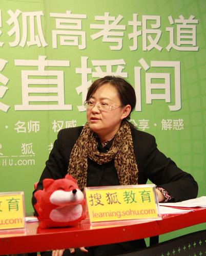 北京化工大学招生办主任 赵静介绍2011年学校招生计划。