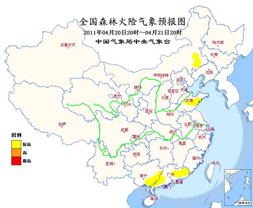 山东安徽湖北浙江福建等地监测到热源点(图)图片