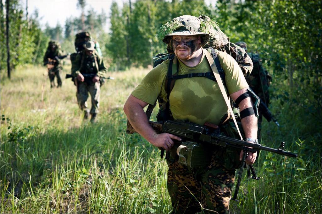 俄罗斯/高清组图:探秘俄罗斯特种部队 主要武器是手枪