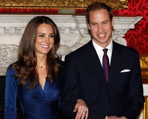 威廉王子与女友凯特即将步入婚姻殿堂
