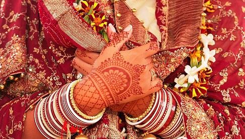 惊艳!印度女人的美丽手绘[组图]